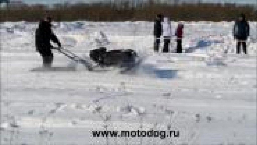 Зимние гонки на мотобуксировщиках (март 2013г)