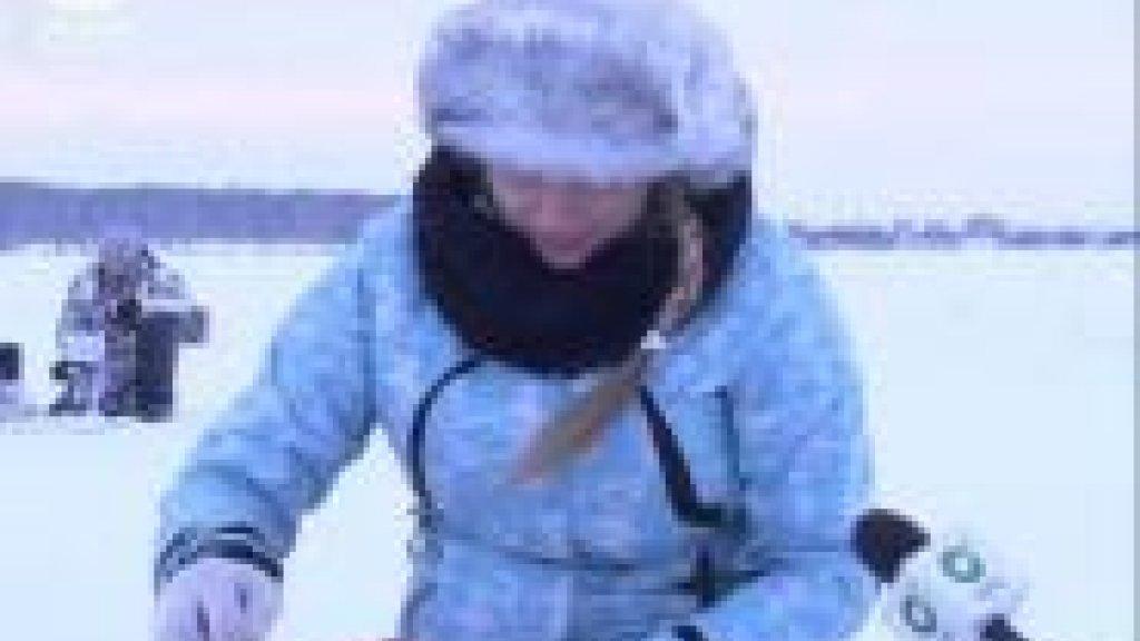 Лучших мастеров зимней рыбалки наградили золотой мормышкой