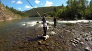 О том, как владимир и Дмитрий рыбу ловили или Тувинская сказка 4