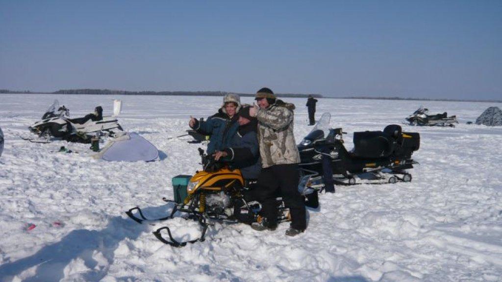 Снегоходы «Ирбис  Динго Т-125» на Сузунских просторах Новосибирской области