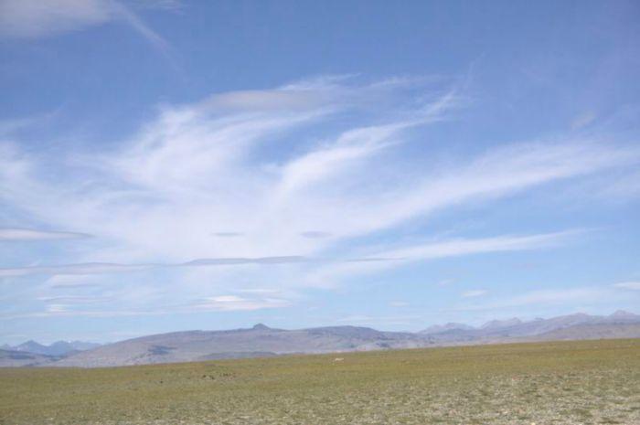 Смайл в небе Монголии