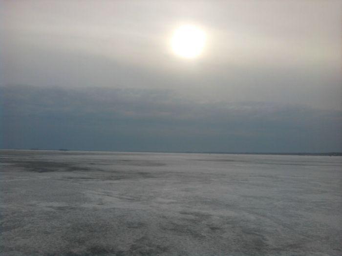 Закат(Береговое-закрытие,небо сердится)