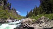 Труднодоступная река на Алтае или водометом на оз. Тайменье