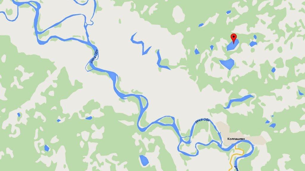 На далеких томских озерах