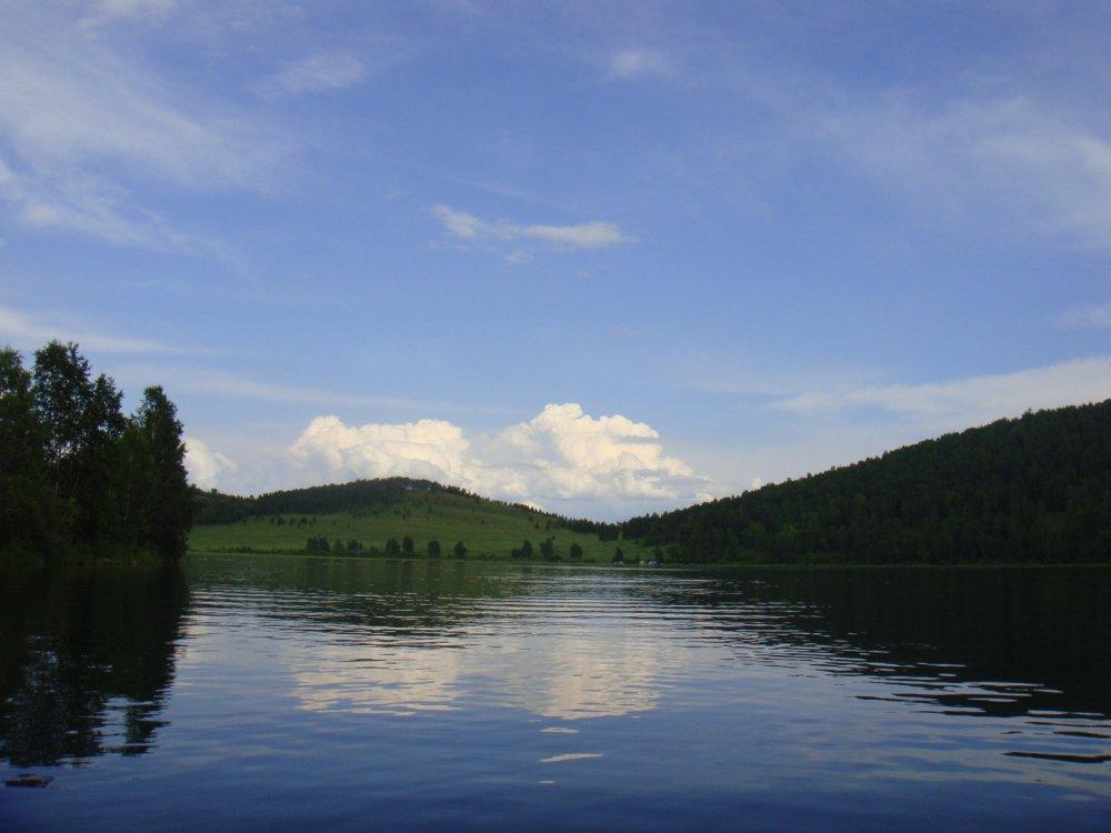 Озеро Сарбаголь (Красноярский край)