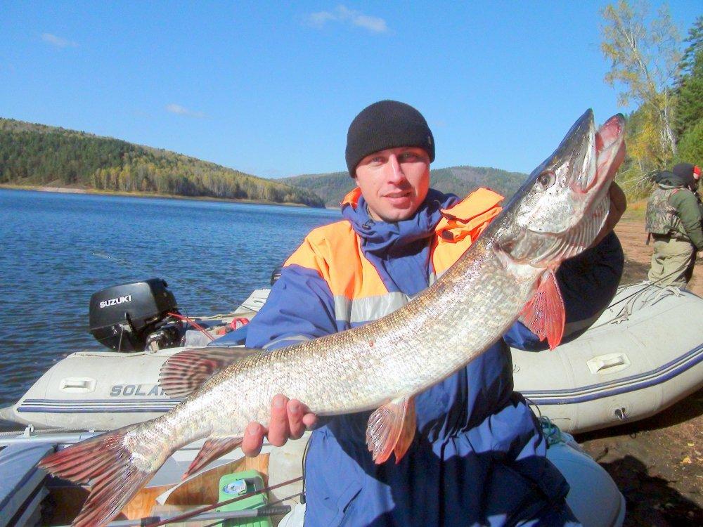 Летня рыбалка на красноярском водохранилище