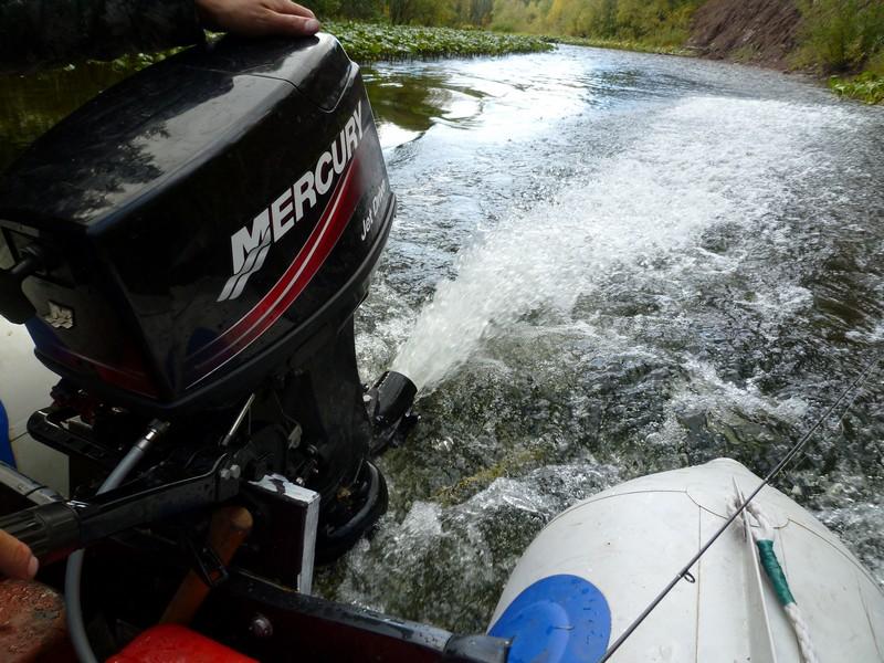 водомет для мелких горных рек- идеальная техника