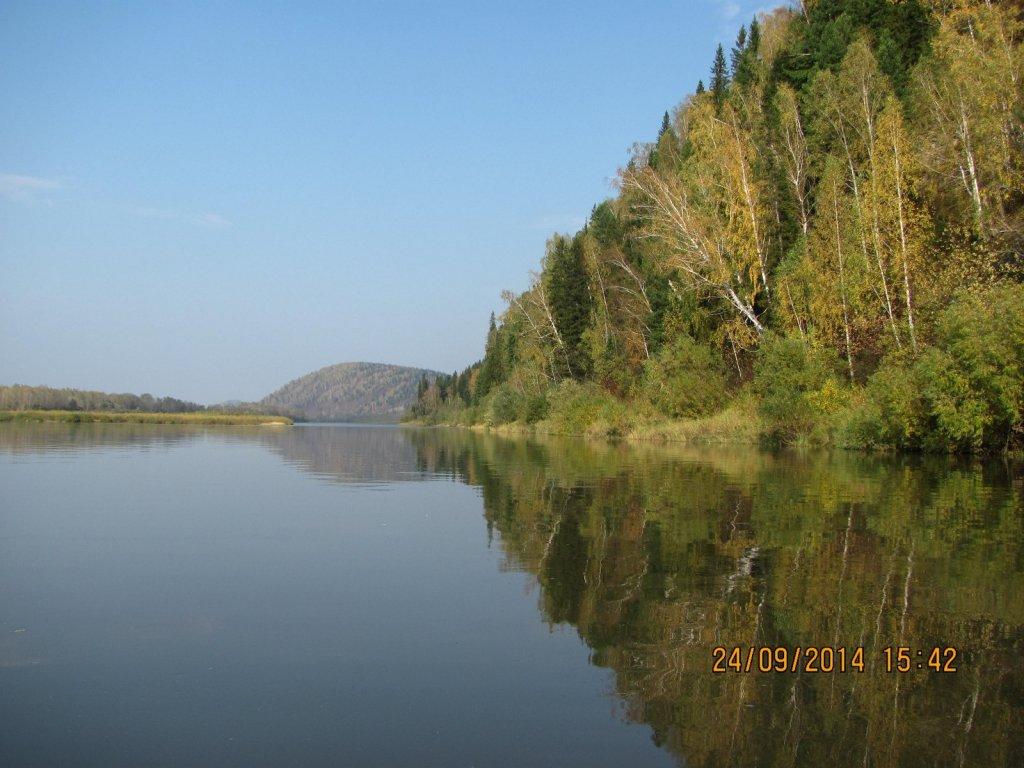 Осень на р.Томь