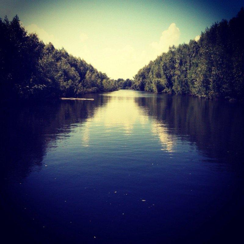 Протока Узенькая.