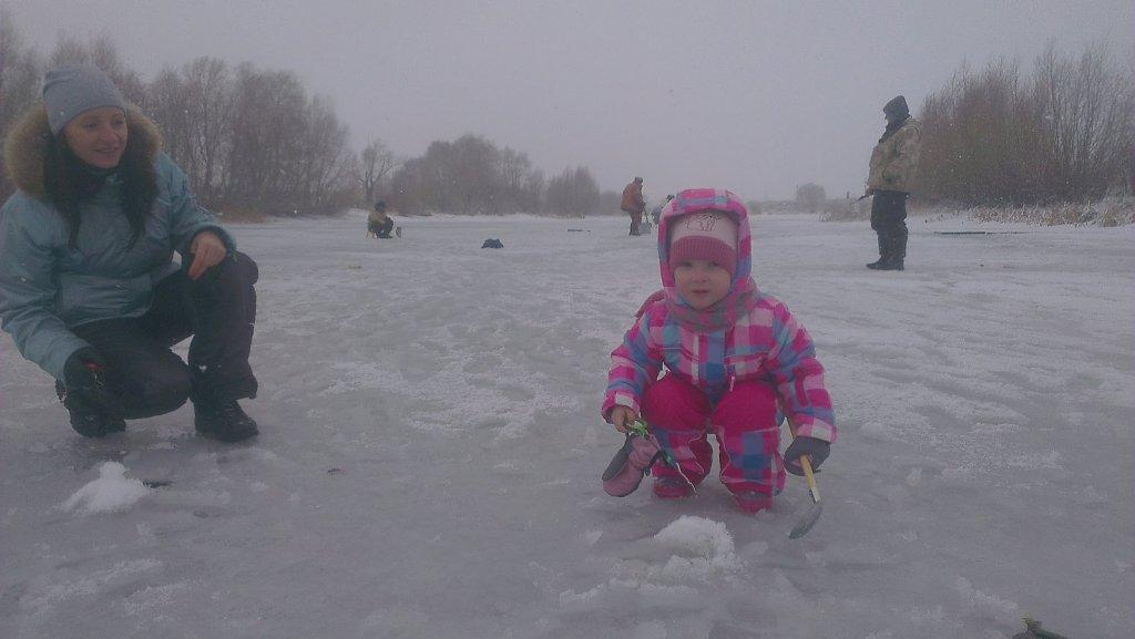 Первый опыт зимней рыбалки