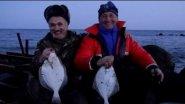 Рыбалка в Германии 34 Ловля камбалы на Балтийском море остров Фемарн