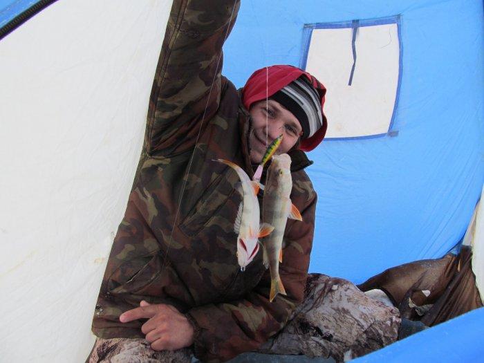 Дуплет... баланс весом в 35-40 гр..не успевал падать до дна павесилились))))