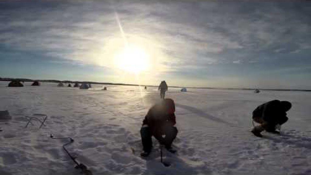Зимняя рыбалка на Гилевском водохранилище