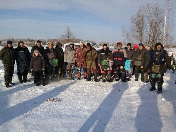 Открытый турнир НСО по ловле рыбы на мормышку 1.02.15