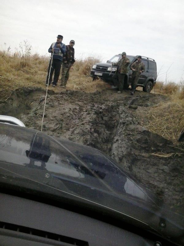Дорога на Косачевку.