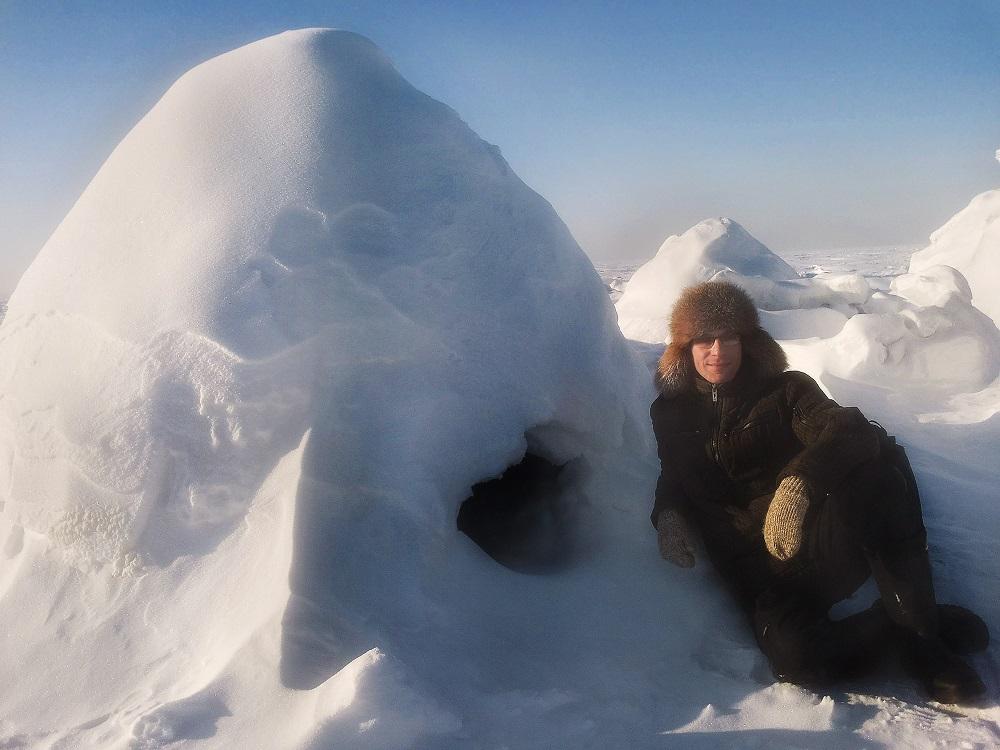 В гостях у снежного человека