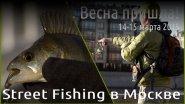 Street Fishing в Москве. Весна пришла!