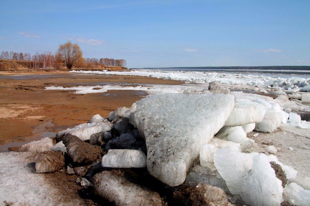 На реке ледоход...