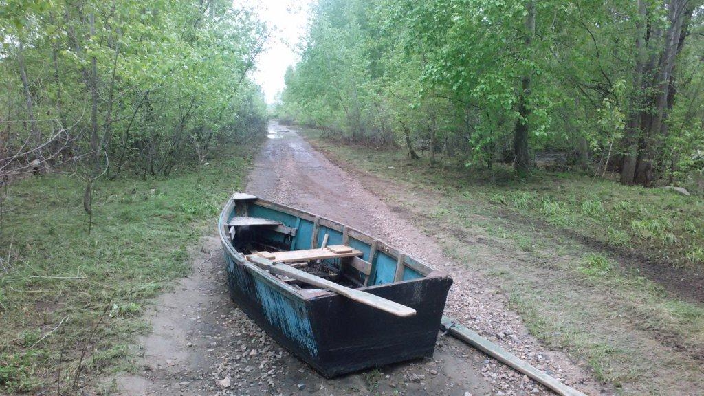 Сухарка.Лютая лодка.