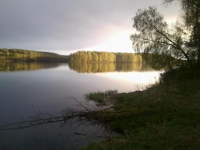 любимое озеро.