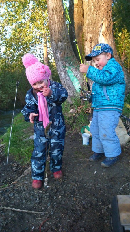 рыбакам на двоих 9 лет