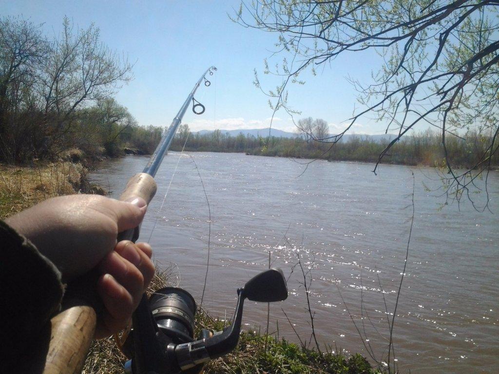 Где то на быстрой реке Алтая)