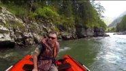 Река Кумир / водометом по Алтаю / Солар 420 тоннель
