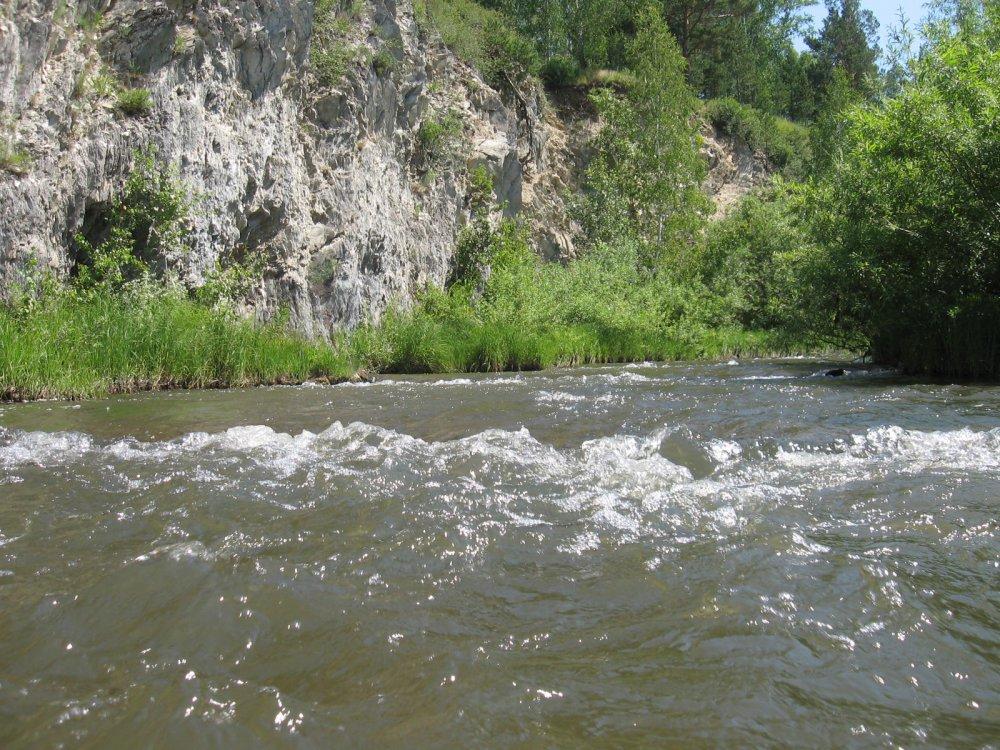 Пороги реки Буготак