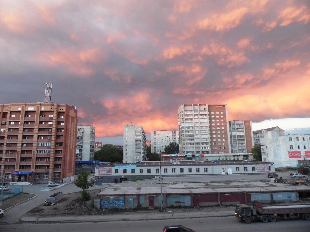 Апокалипсис)))) Баян, конечно же, все видели это небо)