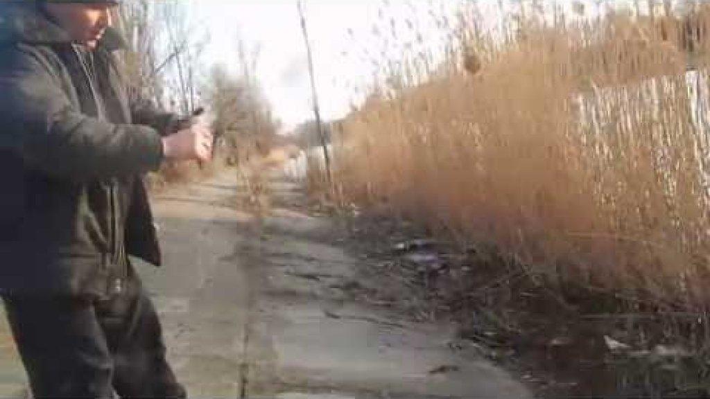 Браконьер ловил на дорожку