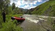 река Чарыш / Путешествие к истокам на водомете.