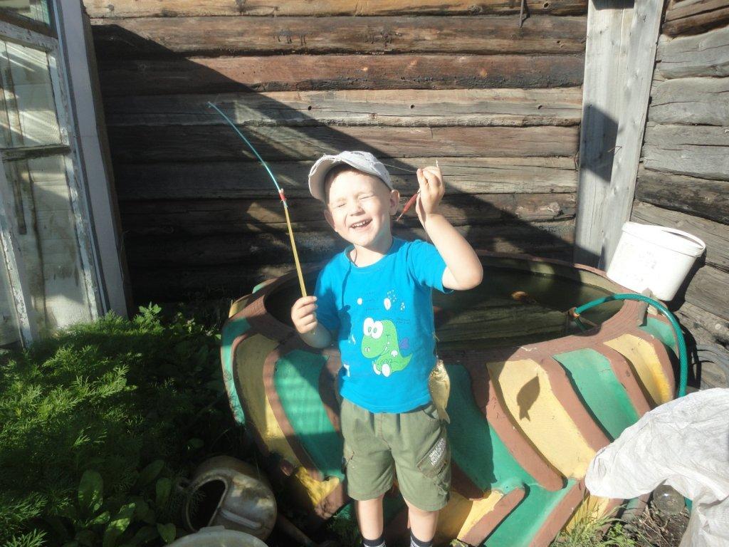 Радость как на настоящей рыбалке.
