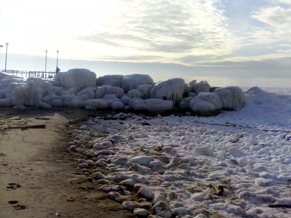 2014_11 Ледяной пляж Звезда