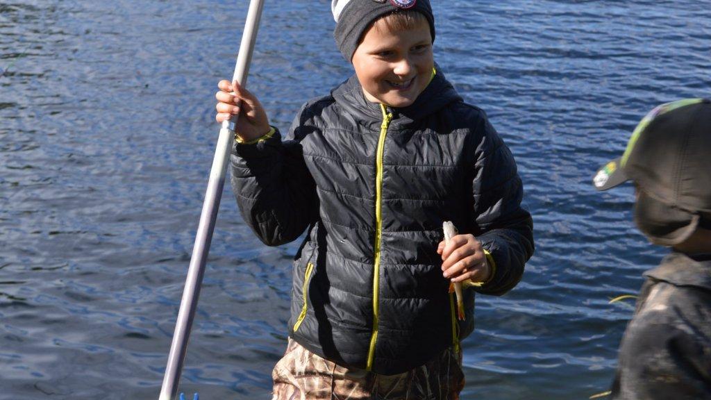 """Детский рыболовный фестиваль """"Юный поплавочник 2015"""""""