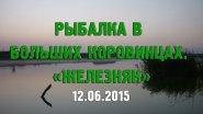 Рыбалка. Украина. Житомирская область. Большие Коровинцы. Железняк. 12.06.2015