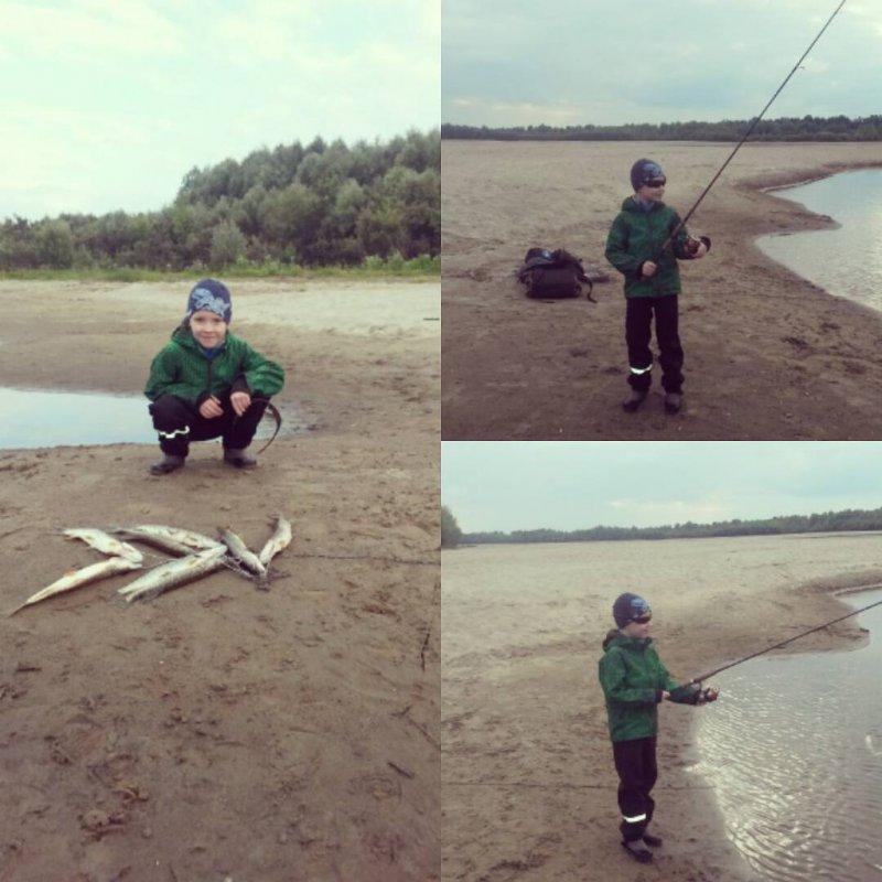 Первая рыбалка!
