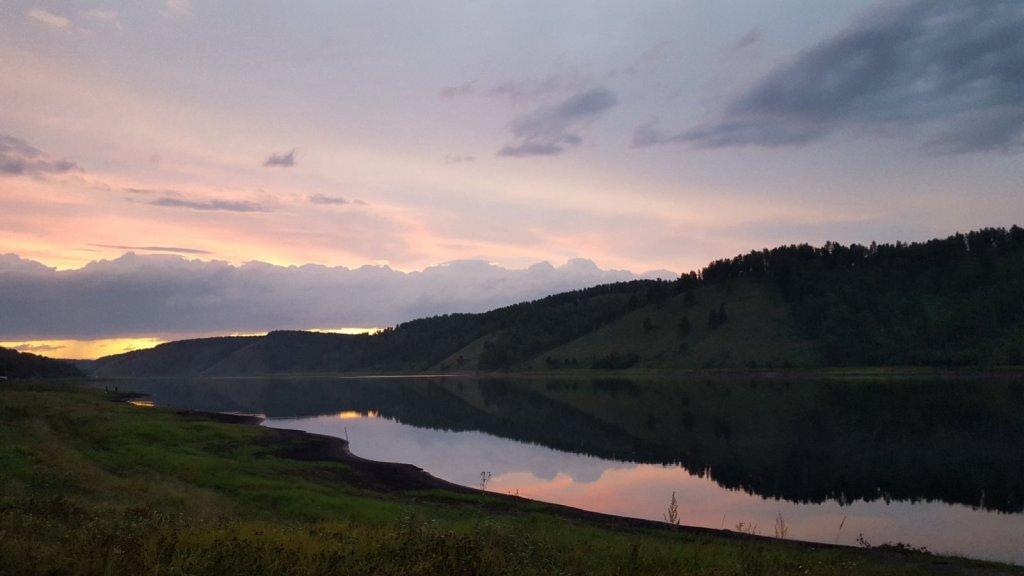 Орский залив Красноярского водохранилища