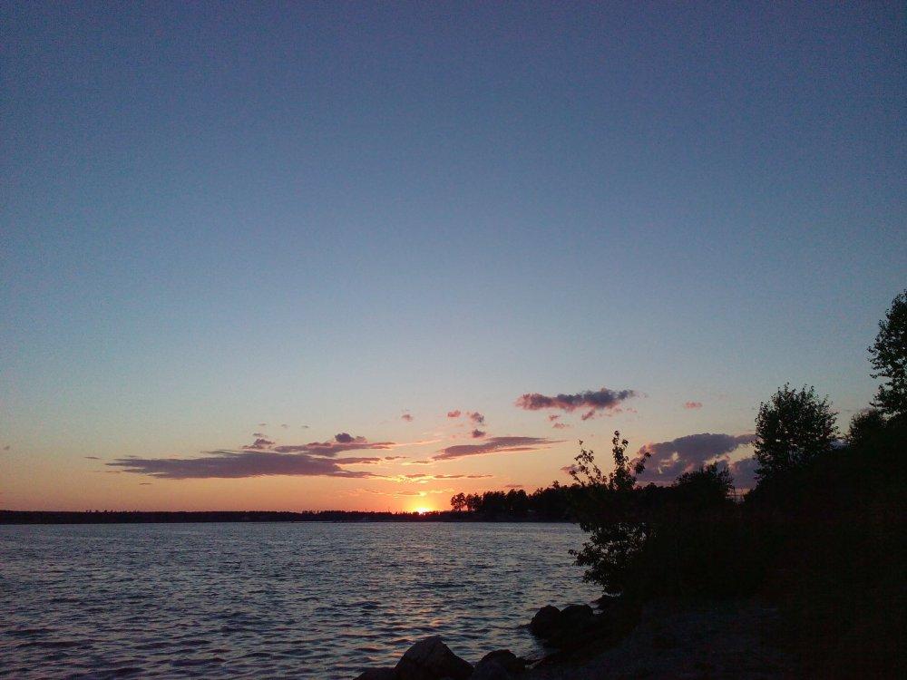 Закат над БЗ