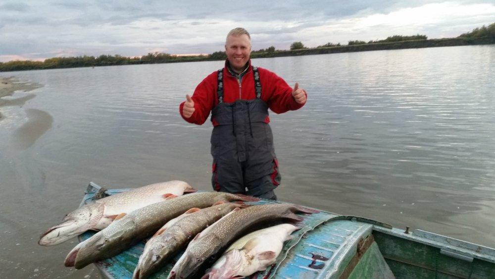 ТО удачная рыбалка