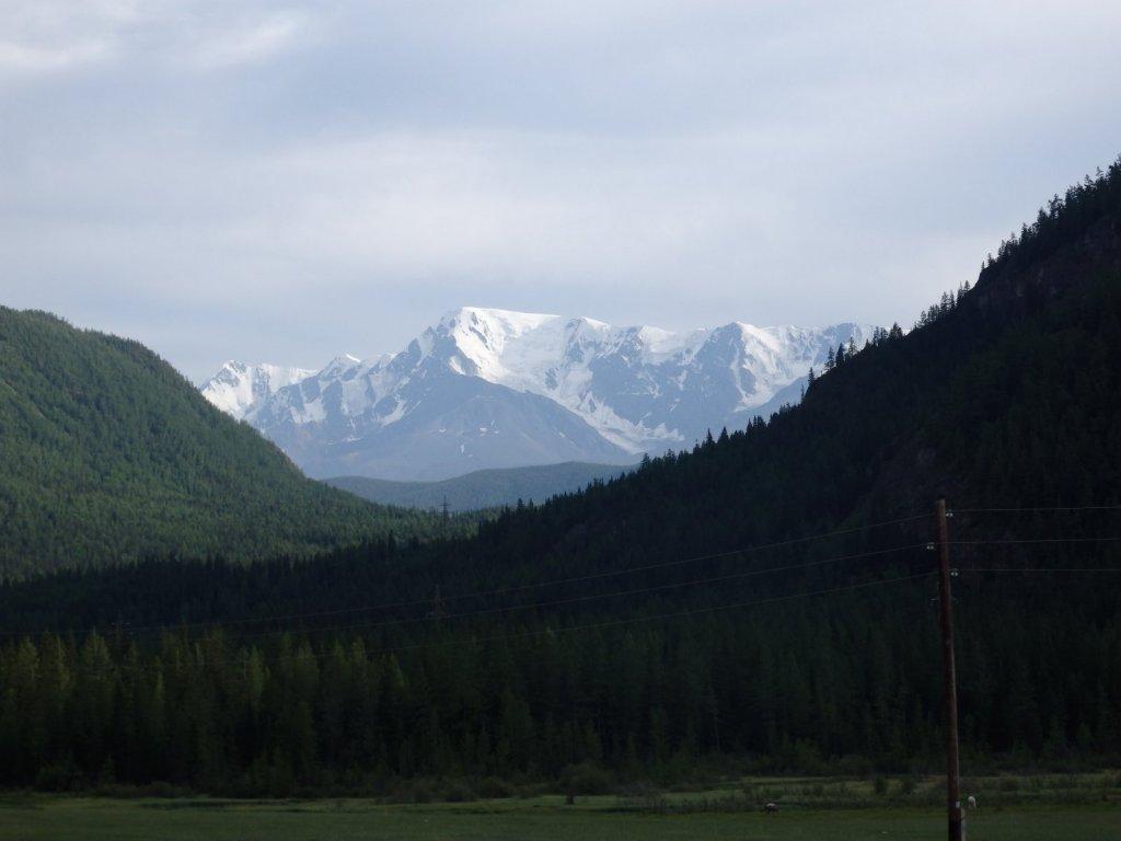 Алтайские горы в августе