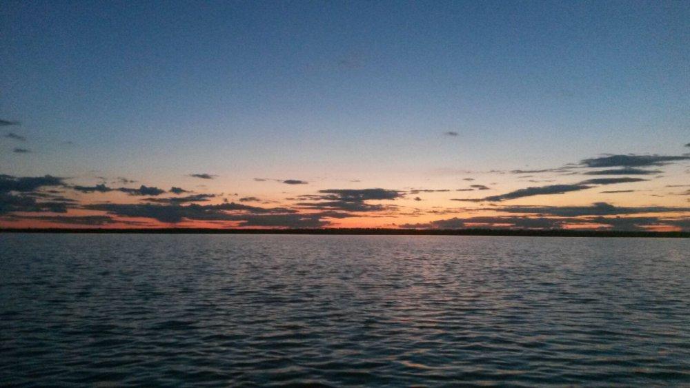 Закат на оз. Красное