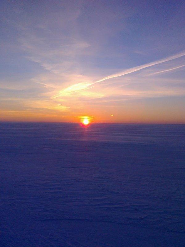 восход на 31 км