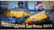 Зимний КарпФишинг 2015 на Украинке (Новогодний БИГФИШ-2015.