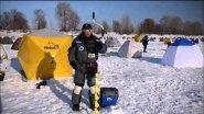 Тестирование ледобура Iceberg-Arctic 130(R)
