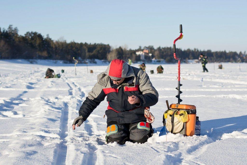 Отдых на трезвую голову «Культурные рыбаки» Подмосковья провели новогодний турнир