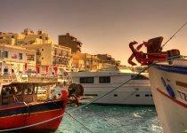 """Порт городка Элунда. о.Крит, август 2014 г. Из серии """"Мои Фото-трофеи разных лет"""""""
