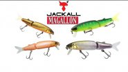 Воблер Jackall Magallon review. Underwater lure action