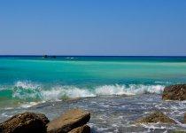 """""""Палитра красок Средиземного моря""""  Греция,  остров Крит. Август 2014 г. Из серии """"Мои Фото-трофеи разных лет""""."""