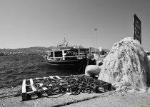 """""""К рыбалке все готово, или промысловая ловля на о.Крит""""   Средиземное море, август 2014 г. Из серии """"Мои Фото-трофеи разных лет""""."""