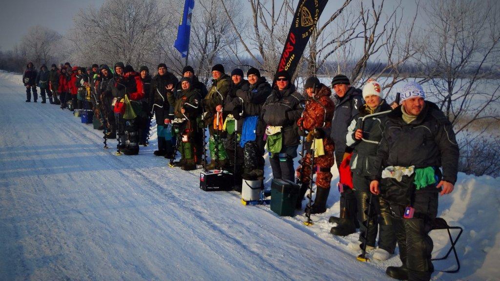Открытые соревнования НСО по ловле на мормышку